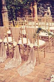 gold chair covers gold sequin chair sashes custom made color without flower wedding