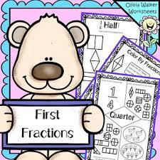 fraction worksheets half third quarter kindergarten pre k