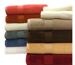 100 plush cotton 6 towel sets by royal tradition