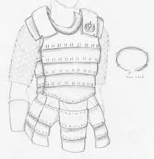 ned armour template lamellar leather search viking garb