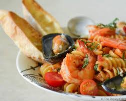 romantic dinner ideas classico tomato basil seafood rotini recipe