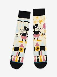stance disney yusuke hanai mickey socks boxlunch