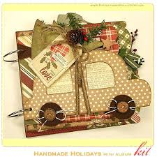 Handmade Scrapbook Albums Premade Christmas Scrapbook Album Ideas Page Layout This Custom