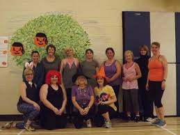 zumba halloween background ann hollett