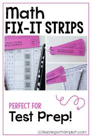 fix it strips are fun and engaging for students each fix it strip