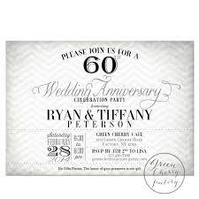 60 wedding anniversary lovely 60 wedding anniversary invitations jakartasearch