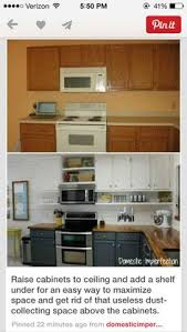 Space Above Kitchen Cabinets Ideas Before And After 25 Budget Friendly Kitchen Makeover Ideas
