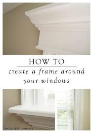 Interior Window Moulding Ideas Best 25 Window Trims Ideas On Pinterest Window Casing Diy