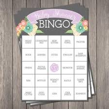baby shower bingo 29 sets of free baby shower bingo cards