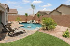 simple backyards u2014 presidential pools spas u0026 patio of arizona