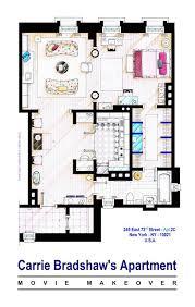 742 Evergreen Terrace Floor Plan Homes From U0027friends U0027 U0027sex And The City U0027 Translated Into Detailed
