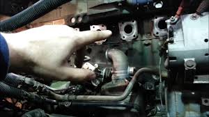 detroit series 60 turbo exhaust manifold youtube
