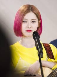 hair style for a nine ye 11 photos of dia yebin s fierce new hairstyle koreaboo