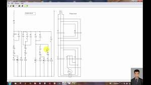 three phase motor control circuit star delta forward reverse