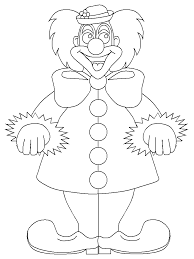 happy clown circus coloring pages 30647 bestofcoloring com