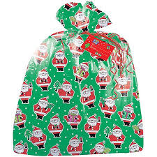jumbo santa claus gift bag walmart