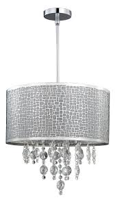 John Lewis Pendant Lights by Canarm Ich394a04ch9 Benito 4 Lt Chandelier In Chrome Ceiling