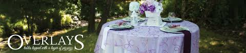 How To Make A Fitted Tablecloth For A Rectangular Table Table Overlays Organza And Satin Table Overlay For Weddings Or