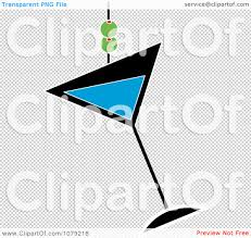blue martini png clipart blue martini glass with olives royalty free vector