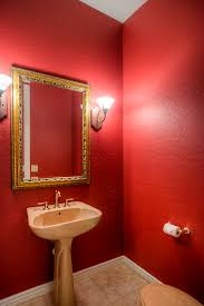 Red Powder Room Spacious Home For Sale In Halcon Community At Grayhawk Near Prime
