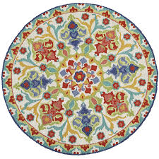 Pier 1 Outdoor Rugs by Nalini Round Floral Round Rug Pier 1 Imports
