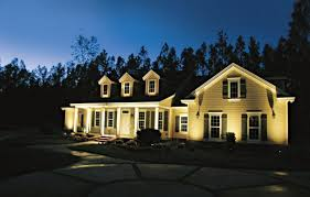 all about landscape lighting this house