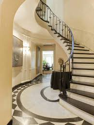 affordable curved staircase decor 7974