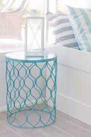Turquoise Side Table Turquoise Room Decorations Colors Of Nature U0026 Aqua Exoticness