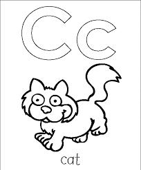 letter c coloring page letter c coloring pages for preschoolers