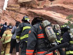 Firefighters Stair Climb by Hundreds Climb Red Rocks Stairs To Honor Firefighters Killed On 9