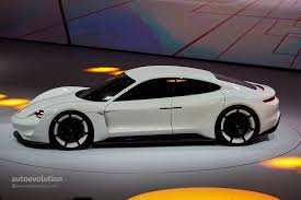 porsche tesla price porsche wants its mission e production model to mop the floor with