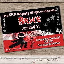 best 25 karate birthday ideas on pinterest karate party ninja