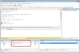 t sql insert into new table debugging how to see the values of a table variable at debug time