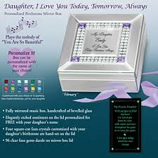 Personalized Music Box Gift Music Boxes For Daughters