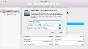 how to reinstall macos apple support disk utility window