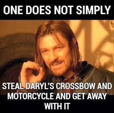 Walking Dead Daryl Meme - the walking dead the best memes and gifs from episode six