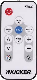 kicker led light controller for most kicker km series speakers