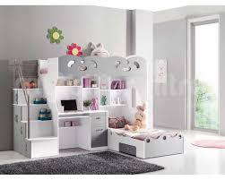 but chambre enfants lit enfant mezzanine avec bureau alinea place pas cher places fly