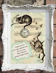 hey i found this really awesome etsy listing at https www etsy alice in wonderland quote art print shabby chic decor vintage style alice wall art