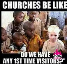 Black Church Memes - 1st time visitor ghetto red hot