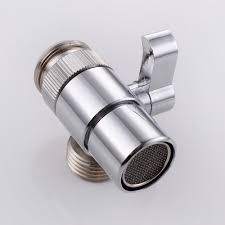brass sink valve diverter faucet splitter for kitchen or bathroom