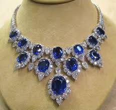 sapphire necklace with diamonds images Sandi pointe virtual library of collections jpg