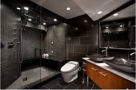 Bold And Beautiful Black Bathroom Design Ideas EverCoolHomes - Black bathroom designs
