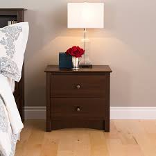 Nightstand Amazon Com Prepac Edc 2422 Fremont 2 Drawer Nightstand Espresso