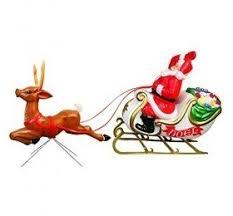Santa Sleigh And Reindeer Outdoor Decoration ‹ Decor Love