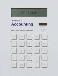 principles of accounting 5 smart m awan n baxter r