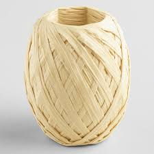 raffia ribbon paper raffia ribbon eggs set of 2 world market