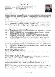 Sample Of Resumes by Examples Of Graduate Resumes