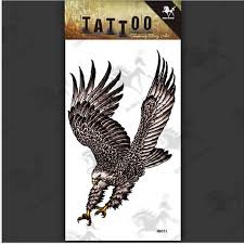aliexpress com buy mens flying eagle tattoo arm temporary bird