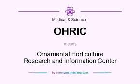 what does ohric definition of ohric ohric stands for